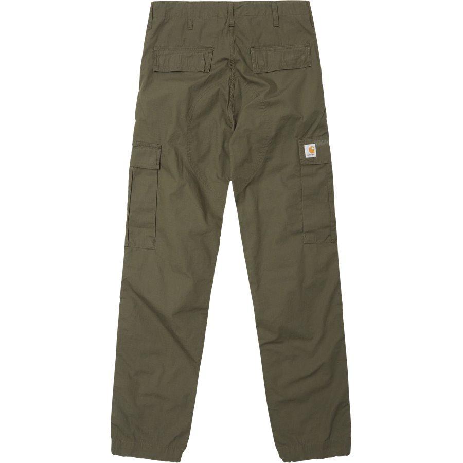 REGULAR CARGO PANT-I015875 - Cargo Pants - Bukser - Regular - CYPRESS RINSED - 1